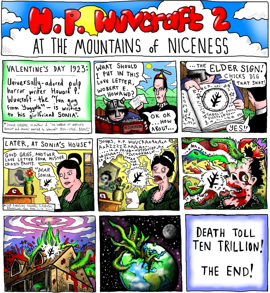 H. P. Wuvcraft II: At The Mountains Of Niceness